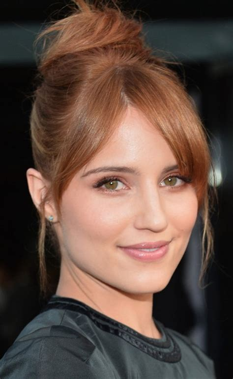 Dianna Agron Hairstyles: Adorable Hair Knot   Pretty Designs