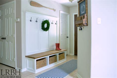 entryway organizer coat rack mail storage coat hooks and key rack wall mounted floating shelf entryway mudroom tutorial brick house