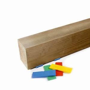 flatpad cale plate mix 200pcs 4x50pcs de chaque ep With cale plastique pour terrasse bois