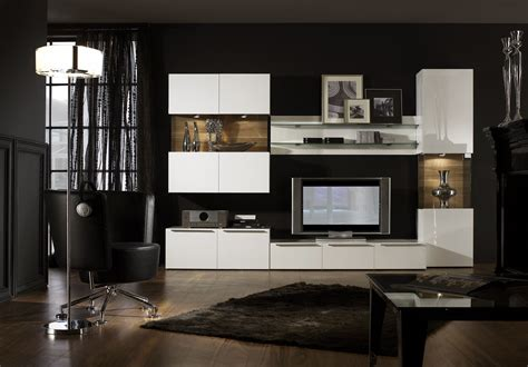 Furniture Bedroom Modern Contemporary Entertainment Wall