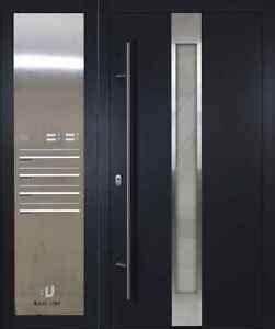 U Wert Haustür : haust r eingangst r aluminium briefkasten as05 u wert ab 0 7 bau um ebay ~ Buech-reservation.com Haus und Dekorationen