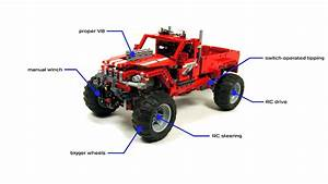 Lego Technic Pick Up : lego technic 42029 custom pick up full rc mod with ~ Jslefanu.com Haus und Dekorationen