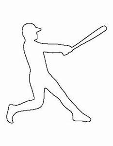 pin by muse printables on printable patterns at With baseball bat template free