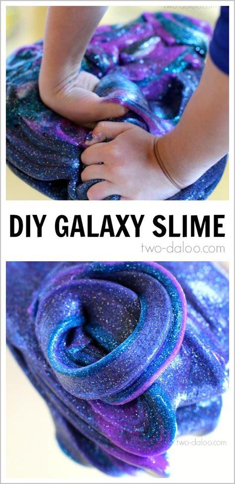 galaxy schleim selber machen diy selber macher diy slime selber machen schleim selber machen und galaxy slime