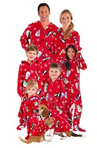 family footed pajamas family clothes