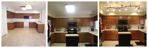 Mini Kitchen Remodel ? New lighting makes a WORLD of