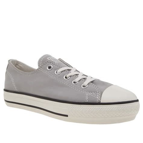 light grey converse womens light grey converse all high line peached ox