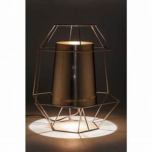 Kare Design Lampe : lampe de table minimaliste cuivr e wire kare design ~ Orissabook.com Haus und Dekorationen