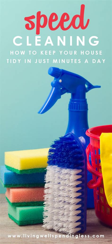 speed cleaning     neat tidy house  minutes