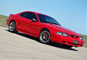 Pin by Ron Clark on Ford: 1994-98 Mustang: SN95 | Mustang gt, Ford mustang, Red mustang