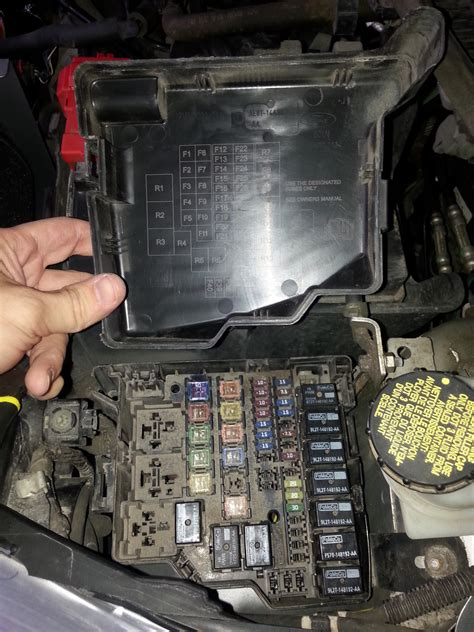 fiesta corroded fuse box