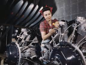 images  ww show female aircraft engineers factory