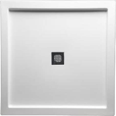 36 x 42 shower pan americh s4236dt wh shower base with square drain 36 quot x 42 7339