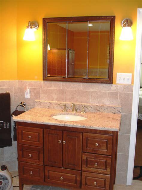 furniture style bathroom vanity design build planners