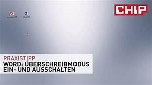 Ein Und Ausschalter : word berschreiben ein und ausschalten chip ~ Yasmunasinghe.com Haus und Dekorationen