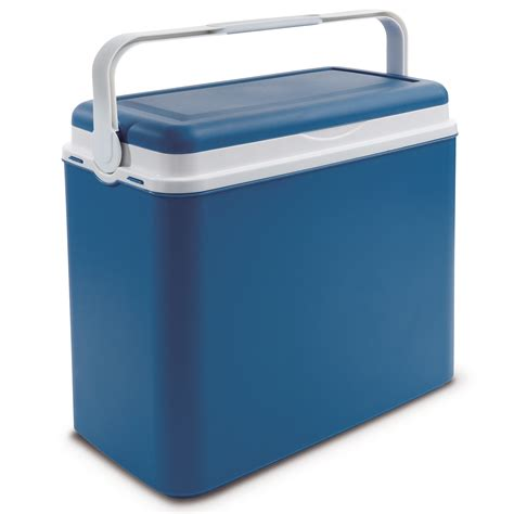fan with ice compartment large 24 litre cooler box cing beach lunch picnic