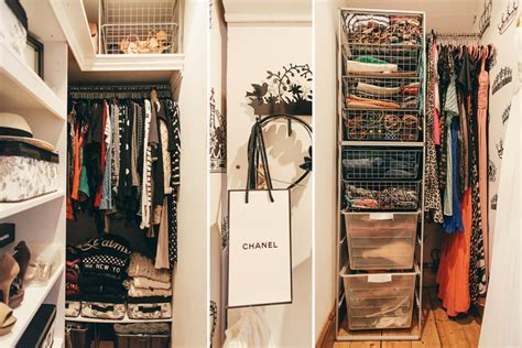 Space saving wardrobe storage for small spaces