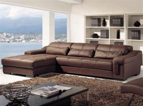 canapé d angle en cuir marron photos canapé d 39 angle cuir marron