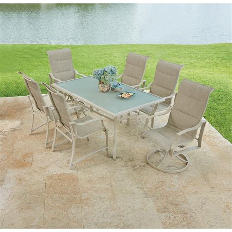 hton bay statesville shell 7 aluminum outdoor
