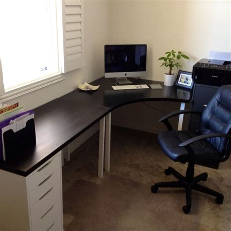 bureau gamer ikea 25 best ideas about ikea home office on study