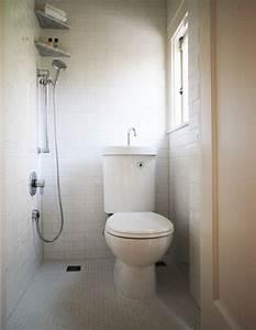 amenagement petite salle de bain 34 idees a copier With salle de bain avec wc