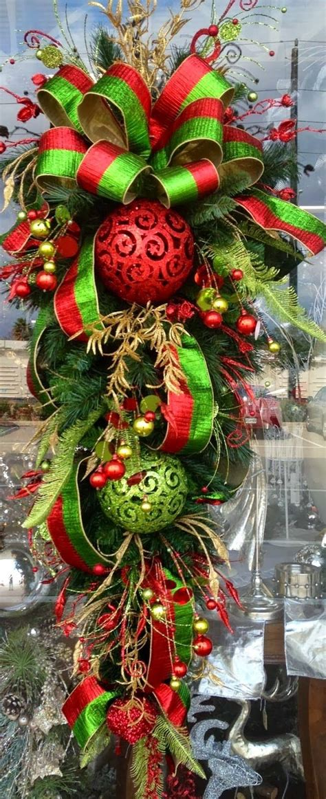 1000 ideas about christmas swags on pinterest christmas