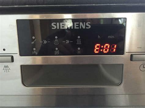 Aeg Geschirrspüler Fehlercodes by Bedienungsanleitung Siemens Iq700 Trockner