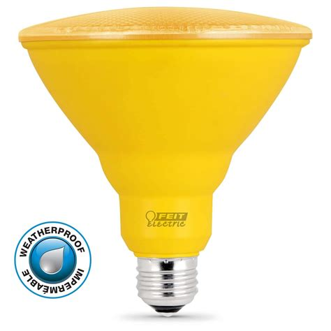 11 000 hour non dimmable yellow led par38 feit electric