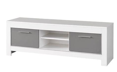 bureaux blanc laqué meuble tv modena laquée blanc grise