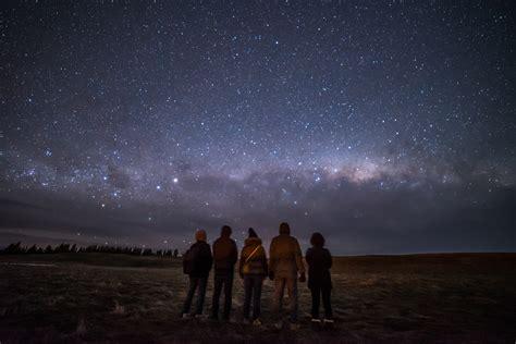 Shooting The Stars New Zealand Aoraki Mackenzie Dark