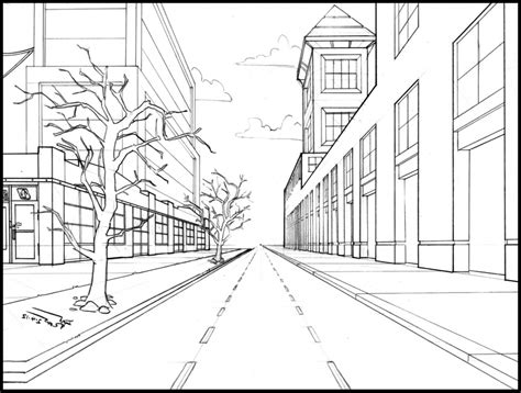 Building Perspective Drawing at GetDrawings.com