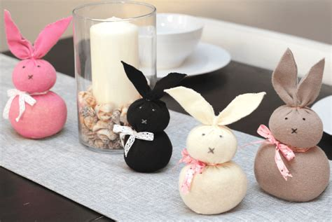 easiest easter bunny craft  unmatched socks  sew