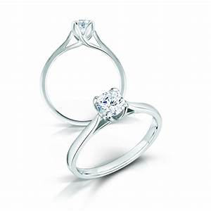 070ct round brilliant cut diamond solitaire engagement With wedding rings with solitaire diamond