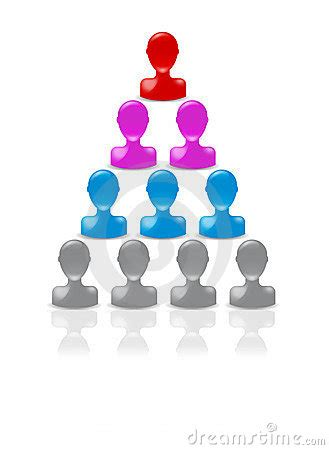 hierarchy pyramid royalty  stock photography image