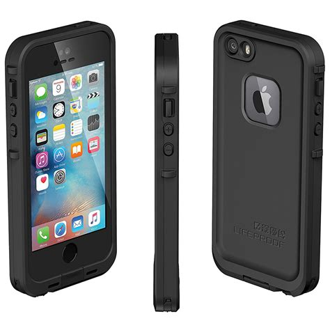 lifeproof iphone 5s lifeproof fre for apple iphone 5s se black
