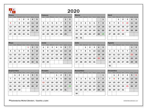 calendario castilla leon michel zbinden