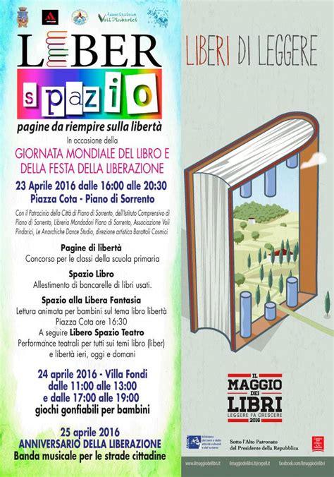 Libreria Mondadori Castellammare Di Stabia by Piano Di Sorrento Festeggia La Giornata Mondiale Libro