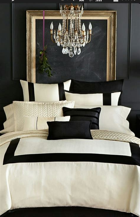 chambre et noir baroque decoration chambre noir et blanc