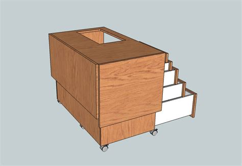 nv woodwerks new project sewing cabinet