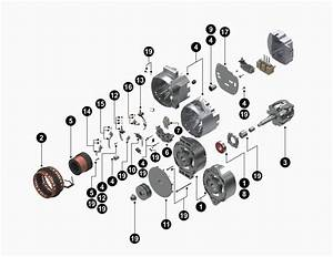Delco Remy 8700018 Alternator Wiring Diagram