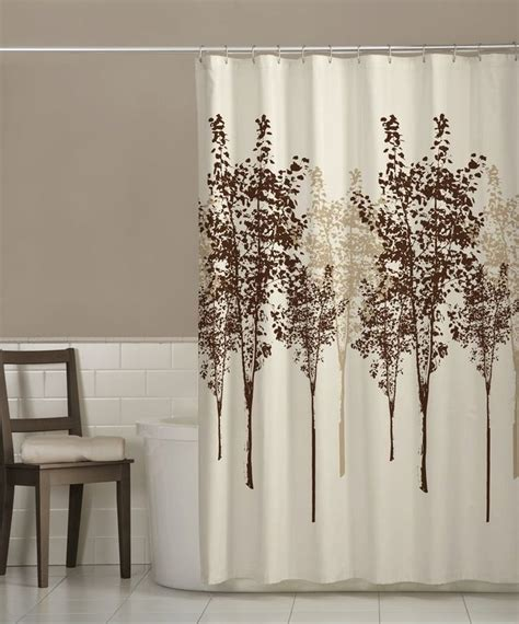 straight stainless seel shower curtain rod  brown