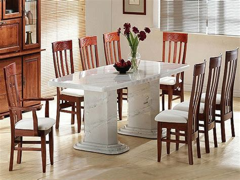 Marble Dining Room Table  White Marble Dining Table