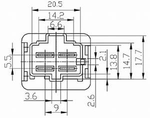 12 volt 4 pin relay toyota foocles relay fls821 12v 40a With 5 pin 6 volt relay