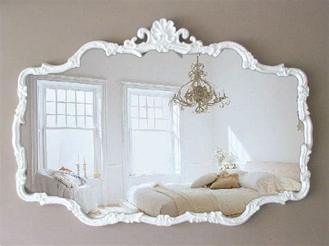 Shabby Chic Bathroom Vanity Mirror by 25 Best Ideas About White Mirror On Large