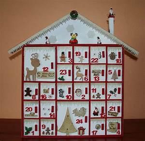 Calendrier De L Avent Maison : calendrier avent bois ~ Preciouscoupons.com Idées de Décoration