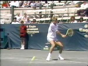 Krickstein vs Agassi Forest Hills 1989 - YouTube