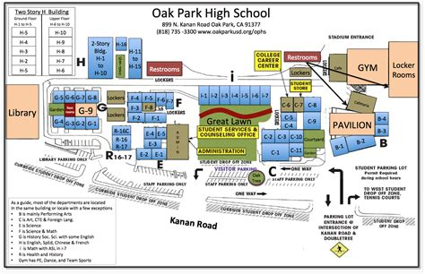 map directions parking info