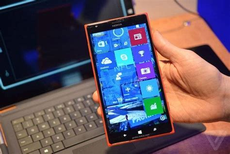 windows phone 2015 windows phone 10 screenshot della technical preview