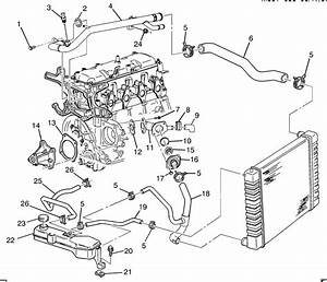 2002 Pontiac Sunfire Cooling System Diagram