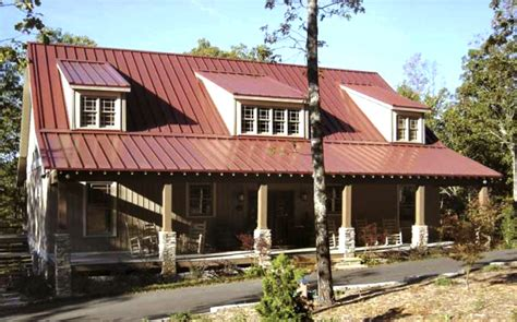 Spectacular Cabin House Designs by Spectacular Rustic Country Home With Open Layout 12